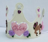 Children's Dressing up - Felt Crown