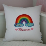 Front of cushion can be personalised