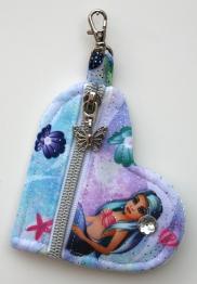 Coin Purse - AQUA Mermaid