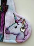 Coin Purse - SILVER Unicorn