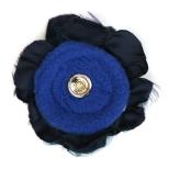 Dark Blue Flower Reverse