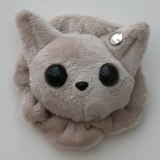 Cat Plushie - Pale Grey