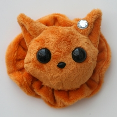 Cat Plushie - Ginger With Matching Ruffle