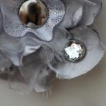 Silver Flower Detail