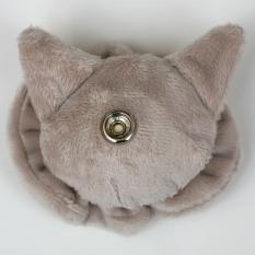 Cat Plushie - Pale Grey Reverse