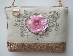 Popper Charms Shoulder Bag