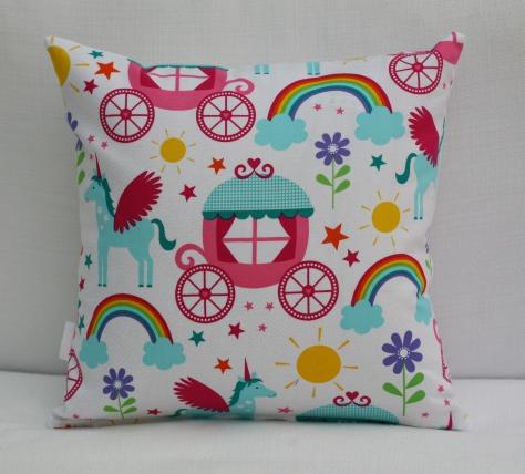 Personalised Rainbow Cushions